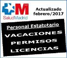 Vacaciones, permisos y licencias 2017.