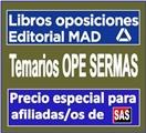 Temarios OPE SERMAS