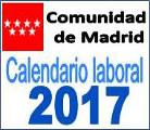 Calendario laboral año 2017