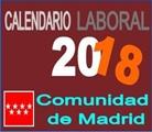 Calendario laboral y Festivos 2018.